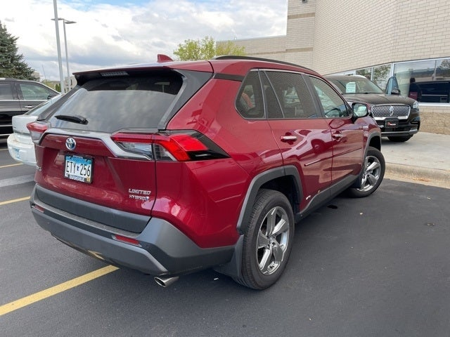 Used 2020 Toyota RAV4 Limited with VIN 2T3DWRFV6LW070089 for sale in Apple Valley, Minnesota