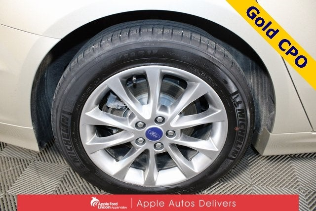 Certified 2017 Ford Fusion SE with VIN 3FA6P0H71HR206985 for sale in Apple Valley, Minnesota